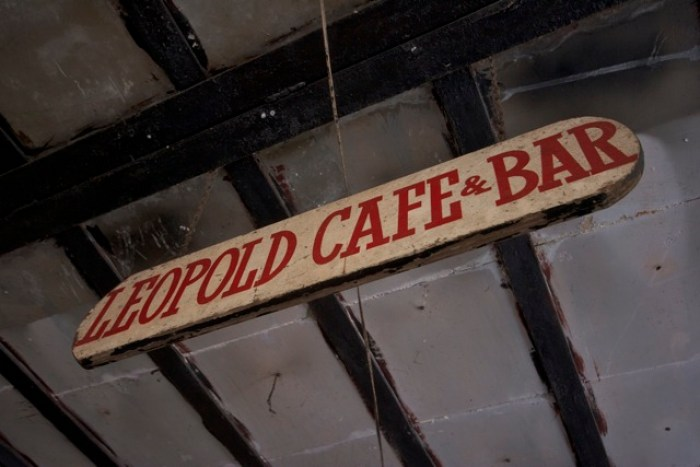 Leopold Cafe Mumbai - Shantaram Novel