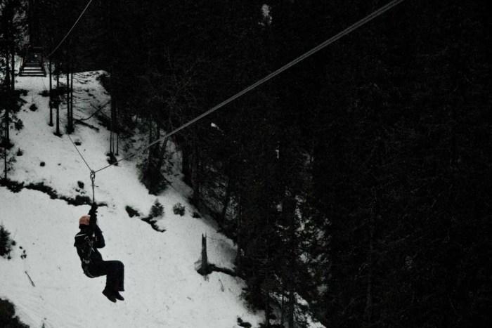 Camp Åre - Ziplining