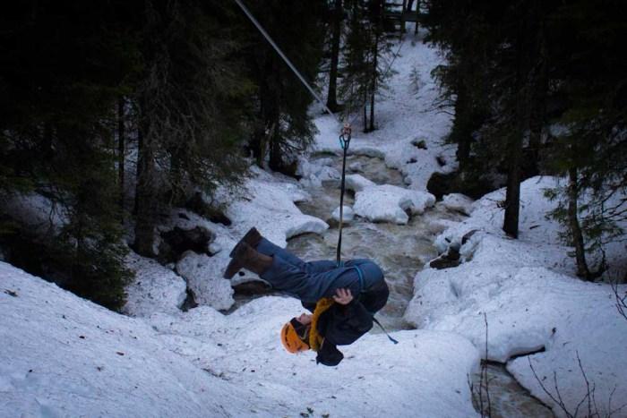 Åre, Sweden - Ziplining