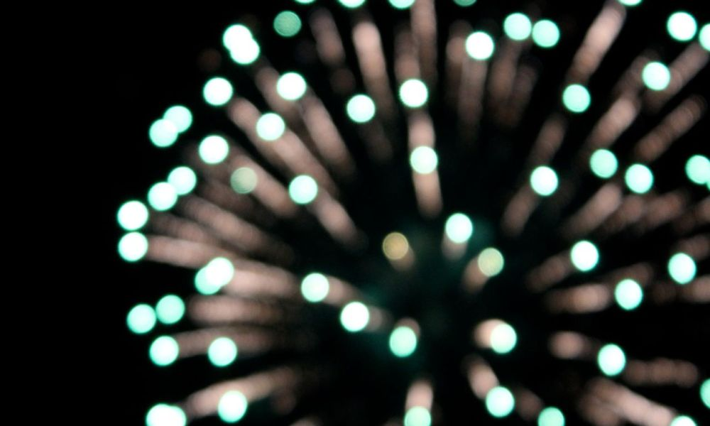 photographing fireworks: a very bokeh independence day.