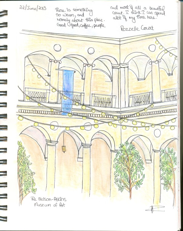 Travel sketches of Kansas City, Missouri