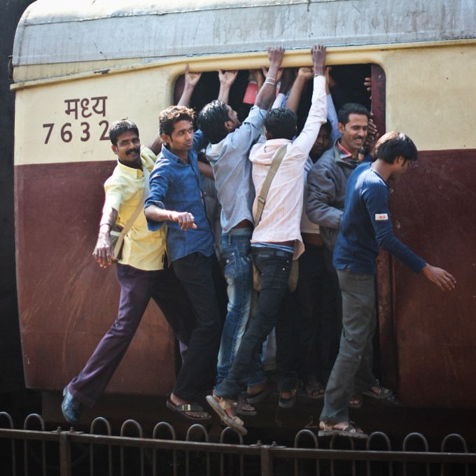 Rail travel in India