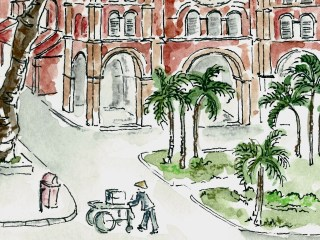 Sketching Saigon
