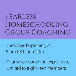 Fearless Homeschooling for New Parents and for Parents Who Need Help in Any Way