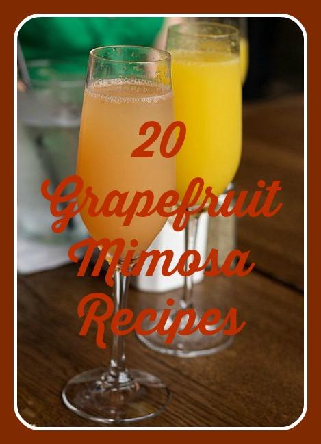 grapefruit mimosa recipes