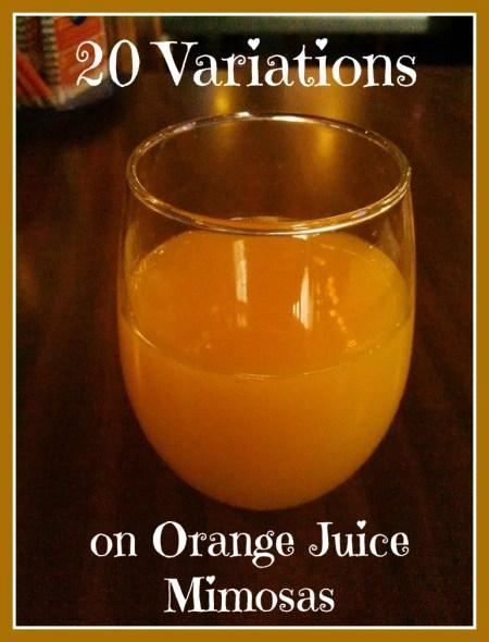 orange mimosa variations