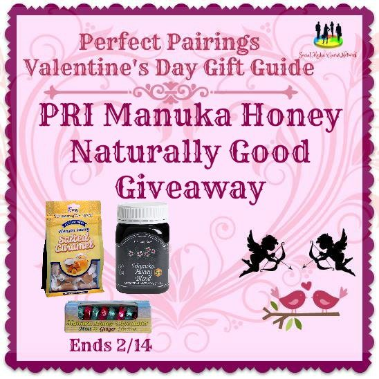 PRI Manuka Honey Naturally Good #Giveaway Ends 2/14 #SMGN