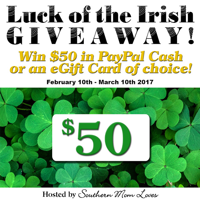 Luck of the Irish #Giveaway Ends 3/10