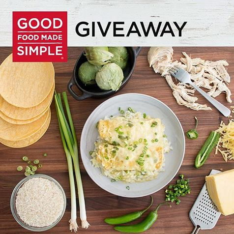 Good Food Made Simple #Giveaway Ends 4/13