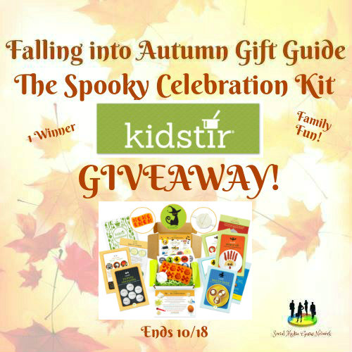 The Spooky Celebration Kit from Kidstir #Giveaway Ends 10/18