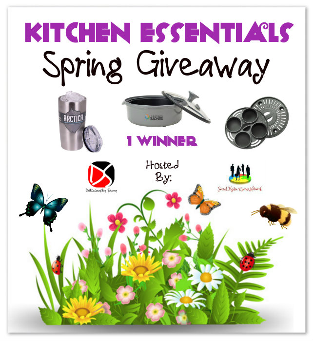 Kitchen Essentials Spring #Giveaway Ends 4/1