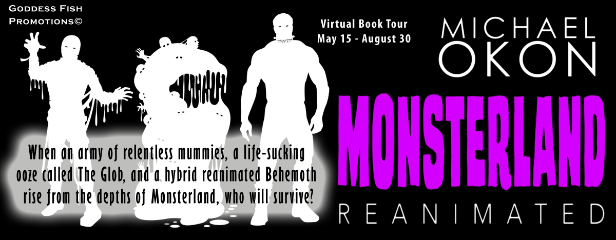 Interview with Michael Okon, author of Monsterland Reanimated with Giveaway