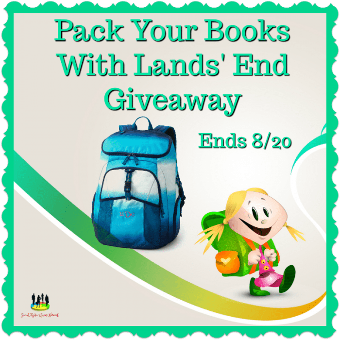 Pack Your Books with @LandsEnd #Giveaway Ends 8/20 via @SMGurusNetwork