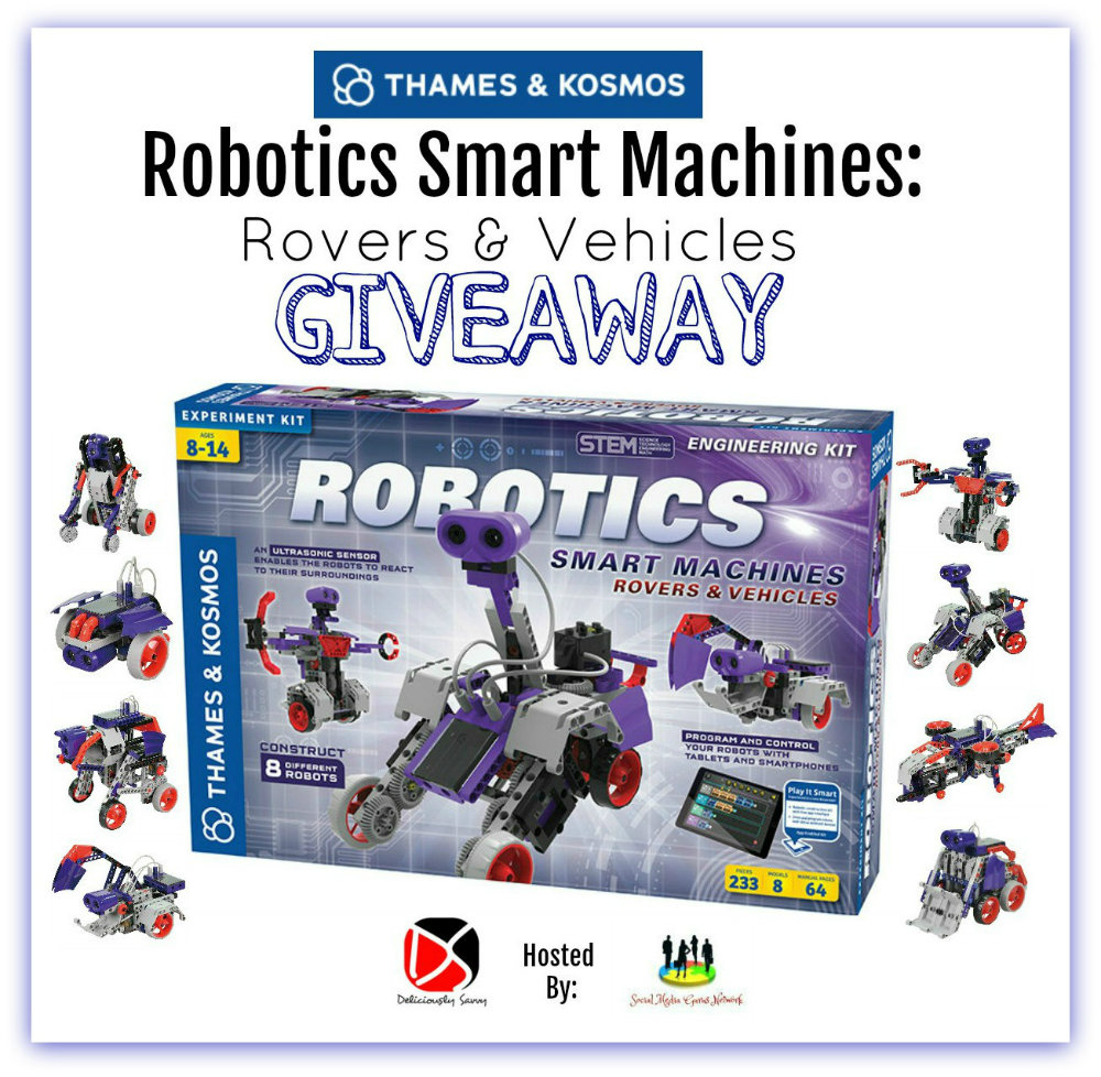 Robotics Smart Machines: Rovers & Vehicles #Giveaway Ends 8/27 via @SMGurusNetwork