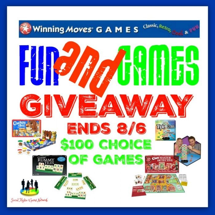 Winning Moves Fun and Games #Giveaway Ends 8/6 #SMGN