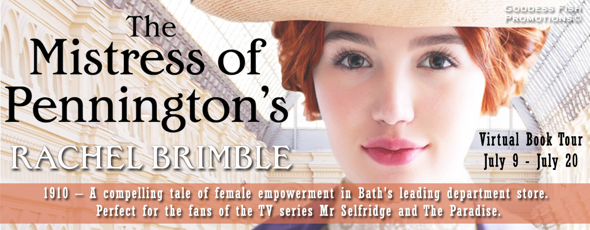 #Interview with Rachel Brimble, author of The Mistress of Pennington's with #Giveaway