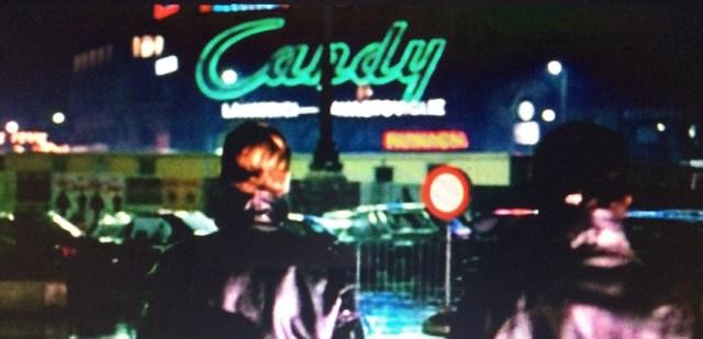"""Unico reperto attestante il logo Candy in centro a Milano (dal film: """"Il ras del quartiere"""" di Diego Abatantuono)"""
