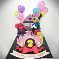 Minnie Mouse Cake mini pasta disney pasta