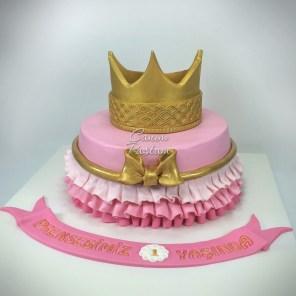 Crown Cake Princess Cake Prenses Tacı Pasta