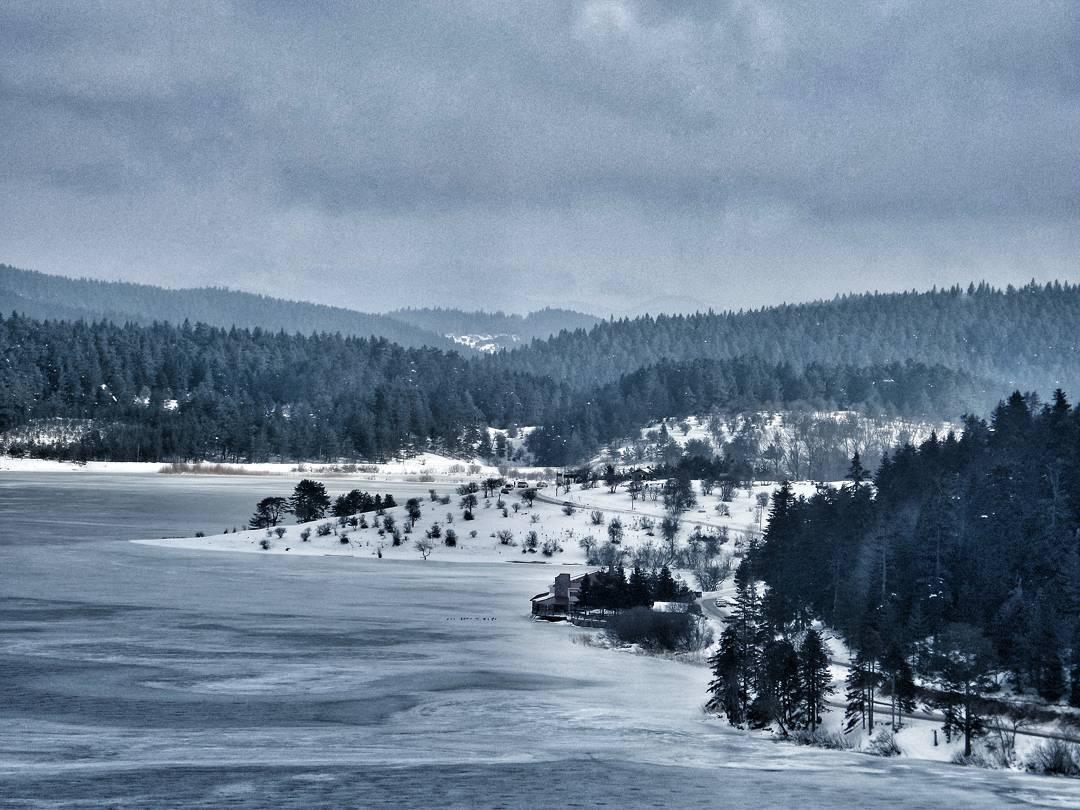 Donmuş Abant Gölü