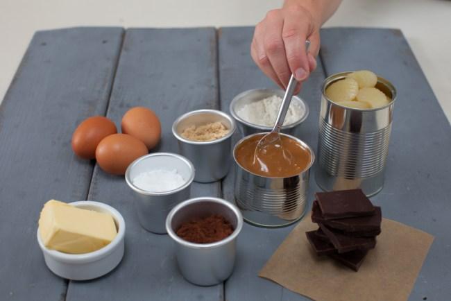 Toffee Apple Brownies