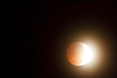Lunar Eclipse - The Start