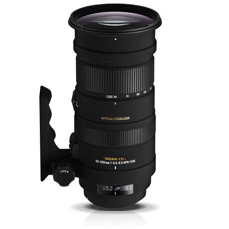 The Sigma 50-500mm f4.5-6.3