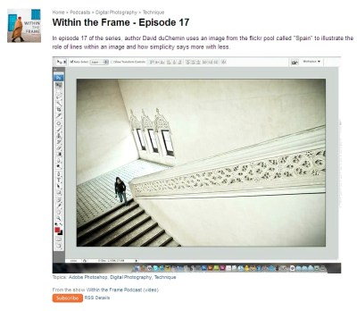 Within the Frame Video Series w/ David DuChemin