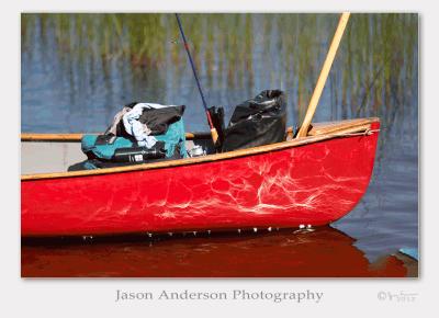 Wordless Wednesday #004 - Red Canoe
