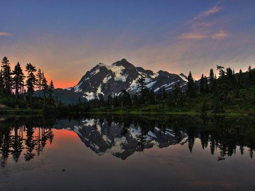 Picture Lake & Mt. Shuksan