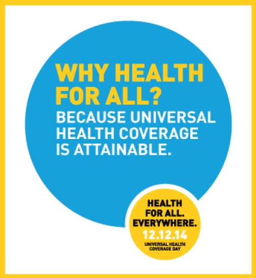 Universal Health coverage is attainable