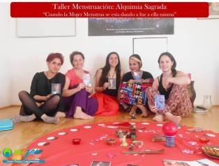 Seminario Menstruación Alquimia Sagrada- Santiago