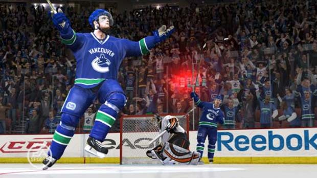 Sedins and NHL 11 EA Sports