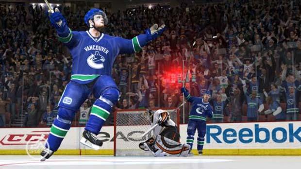 Sedins and NHL 11 EA Sports