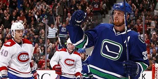 Henrik Sedin, Vancouver Canucks