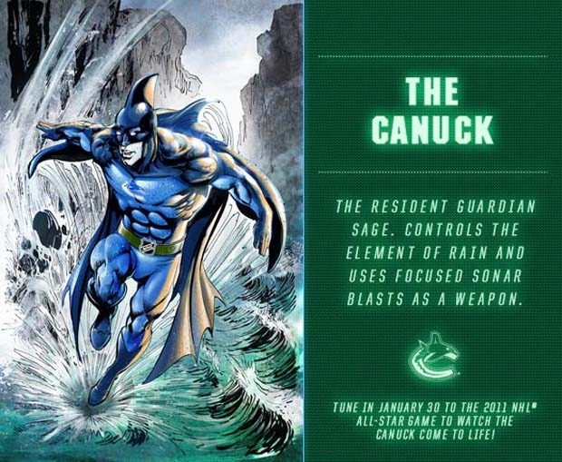 The Canuck NHL Guardian Project