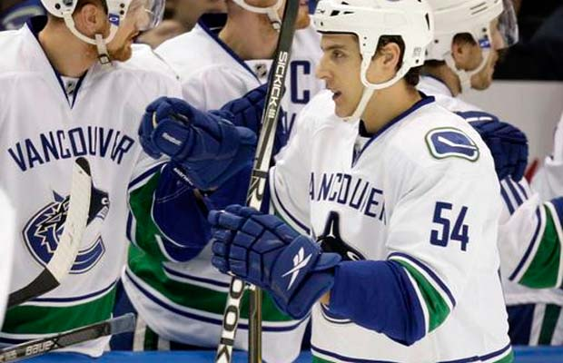 Aaron Volpatti, Vancouver Canucks