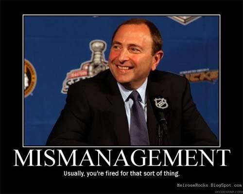 Gary Bettman, NHL