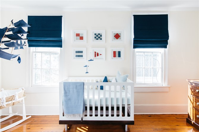 12 Cute As Pie Baby Boy Nursery Decorating Ideas   Canvas Factory Baby Boy Nursery Decorating Ideas   Nautical