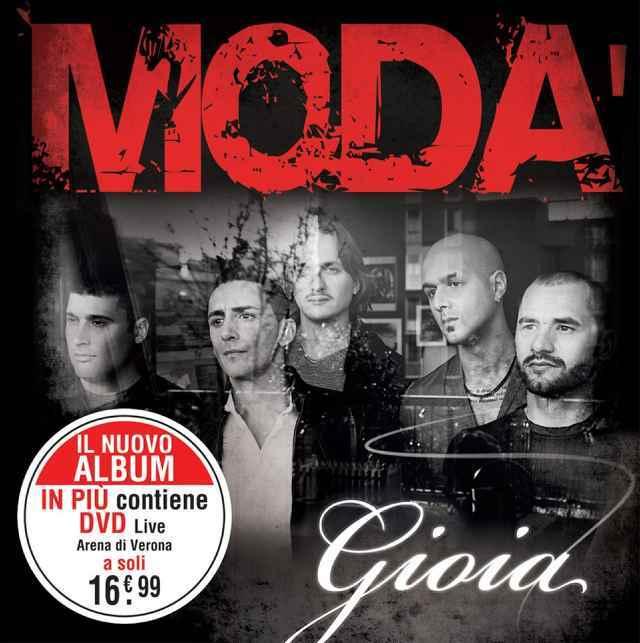Modà Dimmelo Gioia nuovo album 2013