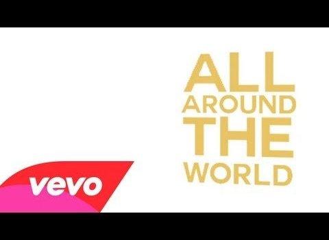 Youtube video Justin Bieber All Around The World