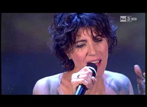 Youtube video Giorgia Che tempo che fa live