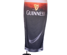 Can flag Guinness face