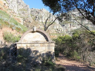 Break-pressure Tank on the Pipe-track, Table Mountain