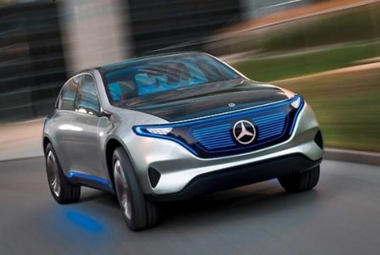 Mercedes Generation EQ Elektromobilität