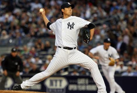 During his days in pinstripes, Chien-Ming Wang was known for his sinker.
