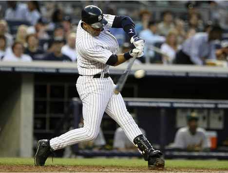 Derek Jeter's absence has left the Yankees without one one of the best opposite field hitters. (Photo: NY Times)