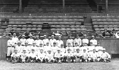 A team photo from the spring of 1921.