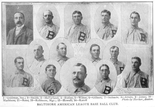 Are the 1902 Baltimore Orioles descendants of the Yankees or not?