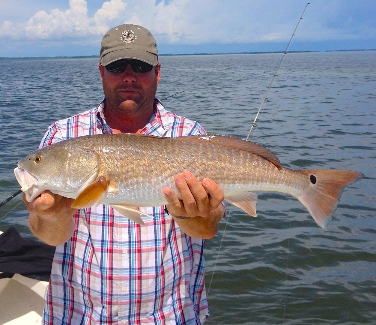 Thursday 12 19 13 captiva fishing report redfish for Sanibel island fishing charters
